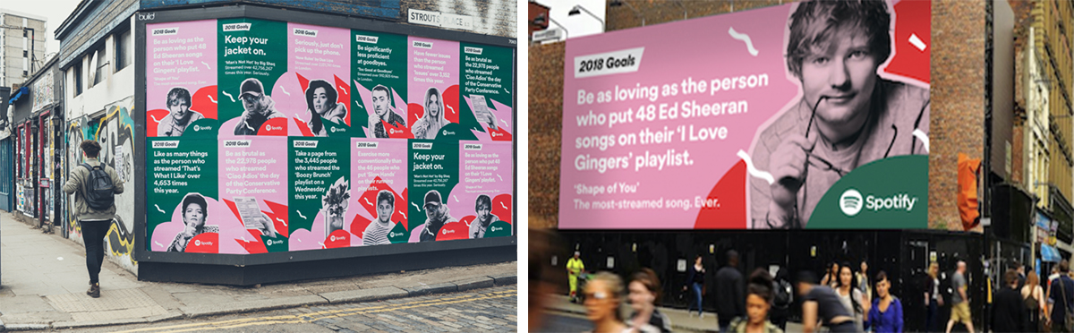 Spotify's New Year's Resolution Campaign
